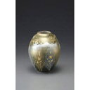 九谷焼 金箔彩木立鶴連山 5号花瓶 (130542)