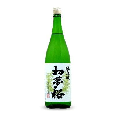 初夢桜 純米吟醸 1.8L