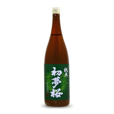 初夢桜 純米酒 1800ml