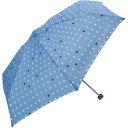 because/ビコーズ コンパクト折りたたみ傘/ストラップ付傘袋! ユースフルミニ/スター BE-03864