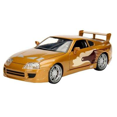正規輸入品 Jada TOYS ミニカー 1:24 Slap Jack's Toyota Supra 19931 1389712