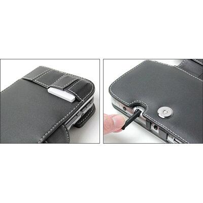 PDAIR レザーケース for Newニンテンドー3DS LL ビジネスタイプ(ブラック) PALCNEWN3DSLLBU/BL