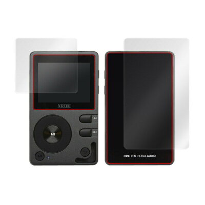 OverLay Magic for X-RIDE デジタルオーディオプレーヤー X6『表面・背面セット』