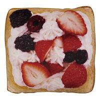食パンクッション 角型 ミックスストロベリートースト