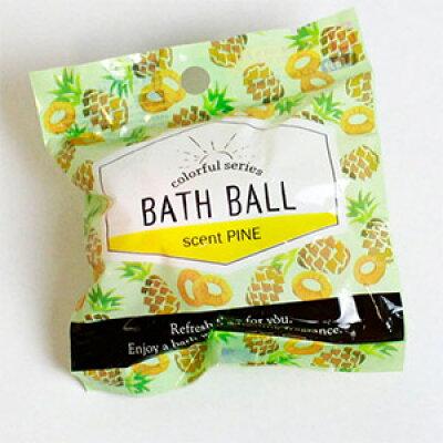 パイン 入浴剤 プチバスボール サンタン