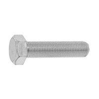 サンコーインダストリー 六角ボルト 全ねじ 細目 表面処理 ユニクロ 六価-光沢クロメート 規格 14X25 ホソメ 入数 130