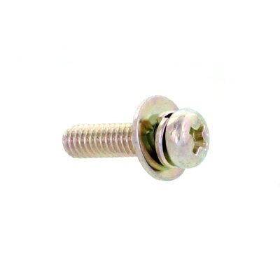 鉄/三価ホワイト + ナベセムス P=3 M4×10