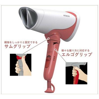 HITACHI マイナスイオンドライヤー HID-T500B(P)
