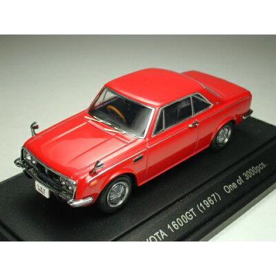 エブロ 1/43 43367 トヨタ1600GT 5 1967 レッド