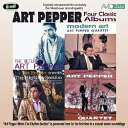 Art Pepper アートペッパー / Four Classic Albums 輸入盤