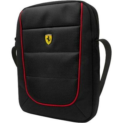 Ferrari 公式ライセンス品 10インチタブレット用バッグ ブラック FESH10BK(1コ入)