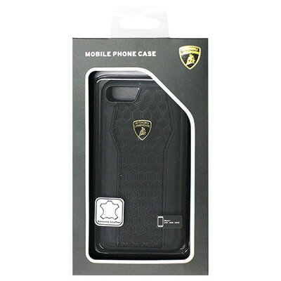 iPhone8/7専用本革ハードケース LB-TPUPCIP7-HU/D8-BK(1コ入)