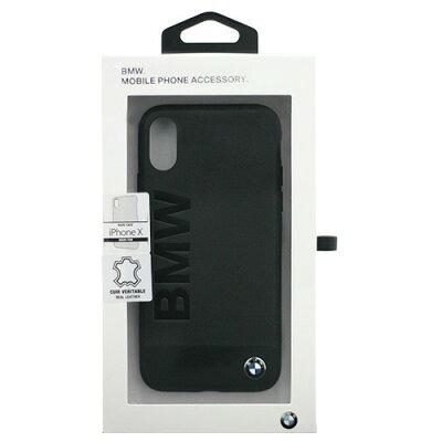 iPhoneX専用 本革+アルミ素材ハードケース BMHCPXSGLALBK(1コ入)