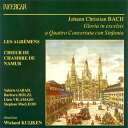Bach JC バッハ / Gloria, Kyrie, Credo: W.kuijken / Les Agremens, Namur Chamber.cho