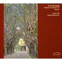 Korngold コルンゴルト / ヴァイオリンとピアノのための作品集 ヘル(ヴァイオリン)ブランコヴィチ(ピアノ)