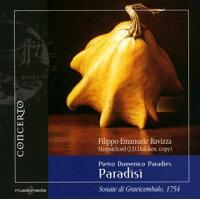 パラディエス、ピエトロ・ドメニコ 1707-91 / 鍵盤楽器のための12のソナタ第1~6番 ラヴィッツァ cemb