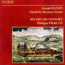 Haydn ハイドン / バリトン八重奏曲集 リチェルカール・コンソート 2CD