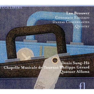 ブローウェル 1939- / Concierto Elegiaco, Etc: Denis Sung-ho G Girard / Chapelle Musicale Di Tournai