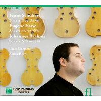 Violin Sonatas Schubert, Brahms, Ysaye: Garnetz Vn Bercu P