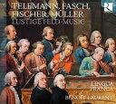 Lustige Feldmusik-telemann, Fasch, Fischer, Etc: Laurent / Lingua Franca