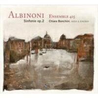 Albinoni アルビノーニ / 6 Sinfonie A Cinque Op.2: Banchini Vn Ensemble 415