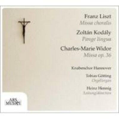 Liszt リスト / Missa Choralis: Hennig / Knabenchor Hannover Gotting Org +kodaly, Widor