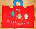 布絵本 ABCアルファベット My abc Finger puppets 指人形abc 知育