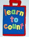 布絵本learn to count New English Version英語刺しゅう版 知育