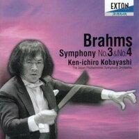 ブラームス:交響曲第3番&第4番/CD/KJCL-00016
