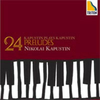 カプースチン:24の前奏曲/CD/OVCT-00016