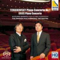 チャイコフスキー:ピアノ協奏曲 第1番、グリーグ:ピアノ協奏曲/ハイブリッドCD/OVXL-00018