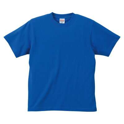 UnitedAthle ユナイテッドアスレ 6.2オンスTシャツ アダルト594201CX ロイヤルブルー