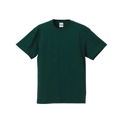 UnitedAthle ユナイテッドアスレ 5.6オンスTシャツ アダルト500101CX アイビーグリーン