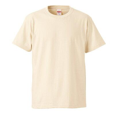 UnitedAthle ユナイテッドアスレ 5.6オンスTシャツ キッズ 500102C ナチュラル