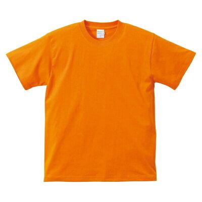 UnitedAthle ユナイテッドアスレ 5.6オンスTシャツ キッズ 500102C オレンジ