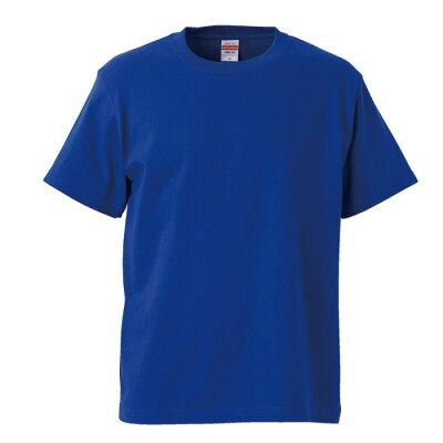 UnitedAthle ユナイテッドアスレ 5.6オンスTシャツ キッズ 500102C ロイヤルブルー
