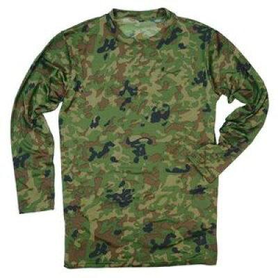 J.S.D.F. 長袖Tシャツ 新迷彩 クルーネック 2704 S