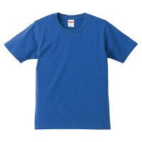 UnitedAthle ユナイテッドアスレ 5.0オンスTシャツ キッズ 540102C ロイヤルブルー