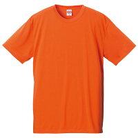 ユナイテッドアスレ 5.5ozドライコットンタッチTシャツ オレンジ XS