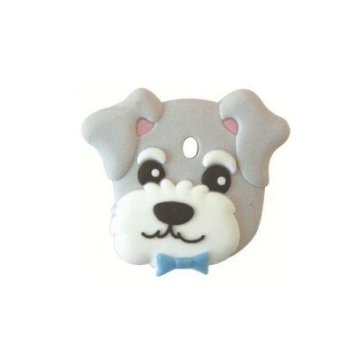 フィールドポイント ペットキーカバー 犬 ミニチュアシュナウザー(1コ入)