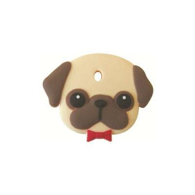 フィールドポイント ペットキーカバー 犬 パグ(1コ入)
