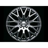 無限 アルミホイールXJ 6.5-16 +55 ブラックメタルコート 推奨タイヤ 195/50R16 1本 インサイト ZE2 42700-XJ4-665C-55_1