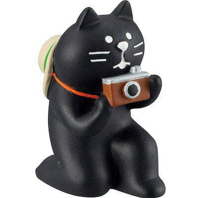 デコレ 黒猫カメラマン ZCB-13322