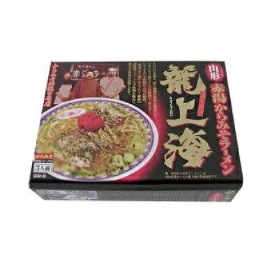 アイランド食品 箱入 赤湯からみそラーメン龍上海 696g