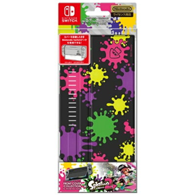 FRONT COVER COLLECTION for Nintendo Switch splatoon2 Type-A キーズファクトリー