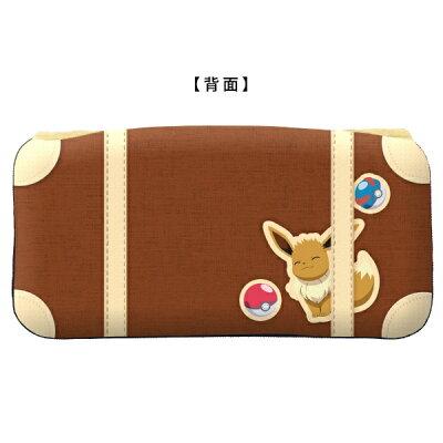 キーズファクトリー KeysFactory ポケットモンスター クイックポーチ for Nintendo Switch イーブイ CQP-008-2