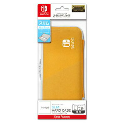 キーズファクトリー KeysFactory SLIM HARD CASE for Nintendo Switch Lite ライトオレンジ