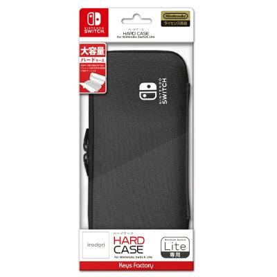 キーズファクトリー KeysFactory HARD CASE for Nintendo Switch Lite チャコールグレー
