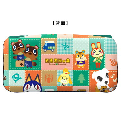 キーズファクトリー KeysFactory QUICK POUCH COLLECTION for Nintendo Switch どうぶつの森Type-A CQP-009-1