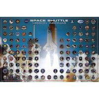 ポスター Space Shuttle Mission Insignias 2077